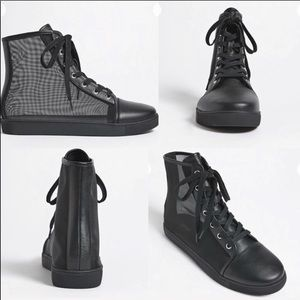 6.5 Mesh High Top Sneakers